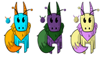 Drail adoptables - HATCHED - CLOSED by ChillyAdoptables