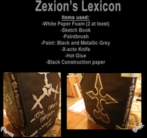 Zexion Lexicon Tutorial by FatalCosplays