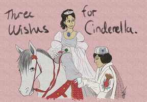 Three Wishes for Cinderella by issabissabel