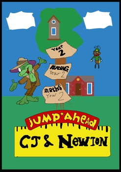 Jump Ahead - CJ and Newton by TomArmstrong20