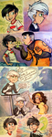 Colored Danny Phantom Sketches by sharkie19