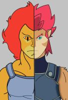 Then And Now: Lion-O by SalmirAeon
