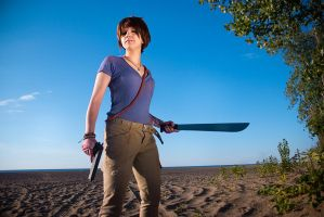 Jason Brody cosplay from Far Cry 3 (Rule 63) by LadyofRohan87