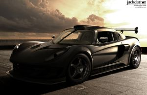 Exige 'Frozen Bronze' by jackdarton