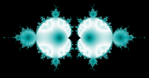 Mirrored Mandelbrot by sicklittlemonkey