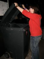 Man-Eating Bin by Girl-on-the-Moon