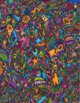 Psychedelic Doodle by jesus-at-art