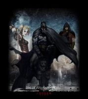 Batman Arkham City by DesignsByTopher