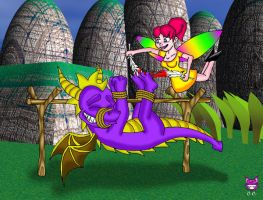 RETROPOST: Spyro the Dragon by CheshireCaterling