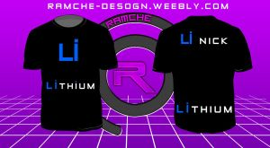 Lithium t-shirt by Ramche