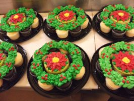 Cupcake Pullaparts Wreath by Nimhel