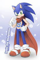 Sonic for mangakid37201 by Chibi-Nuffie