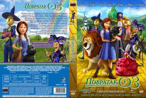 legends of oz povratak u oz dvd omotnica srpski by credomusic