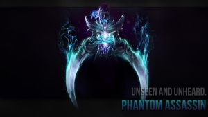 Phantom Assassin Arcana Wallpaper by ImKB