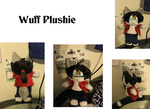Wuff Plushie by Void-Shark