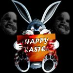 Bad Easter Bunny by Day-Driana