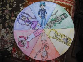 Personality Color Wheel by Readmeabook21