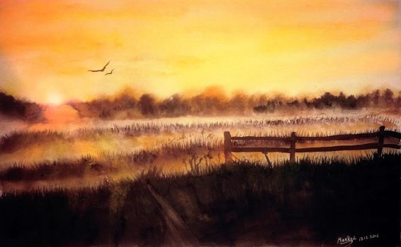 Early Morning by Maarel