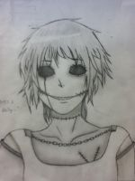 CreepyPasta OC- Eye-less Demon ( or Heart-less) by tobi9245