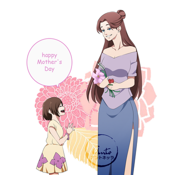 happy mother's day by HatakeShion