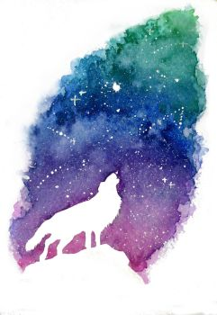Wolf by awesome-nhf