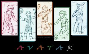 avatar - .gaang. modern sports by dyrkm