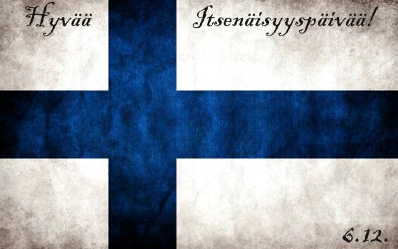 Happy Finnish Independence Day! by Hekuzz