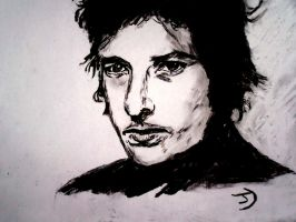 My first charcoal portrait. by spaniard12
