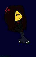 Me as an Emo Chibi by AngeltheDeranged