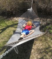 napping - luffy cosplay by lavenderp