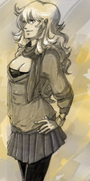 Yang.Autumn outfit by KrisseyMage