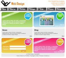 pd Web Design V2.0 by hawkey2007