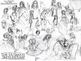 The Ultimate Sketchdump by Alyvia-Write