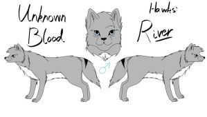 Unknown Blood - River Reference by fluffylovey