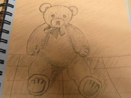 Teddy Bear by JustARegularArtist22