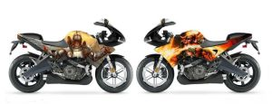 Another bike design I worked up by KattyMax