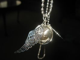 Silver Snitch by pearlandfrog13