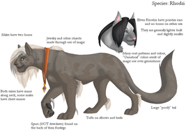 Rhodri Species Reference - NEW by alaitallon