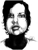 Dax Riggs The Drawing by SuiGenerisCrystal