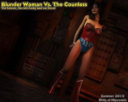 Blunder Woman Vs. The Countess - Promo 02 by thejpeger