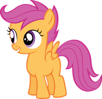 Scootaloo by Ravirr94