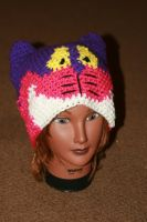 Cheshire Cat inspired beanie by LilithsSmile