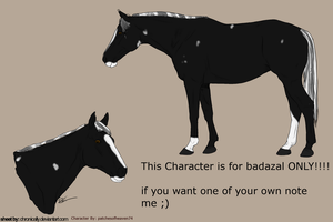 3rd design for badazal by patchesofheaven74