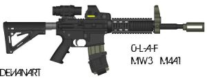 COD:Modern Warfare 3 M4A1 by 0-L-A-F