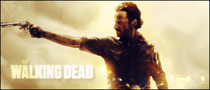 [The Walking Dead]Rick Grimes Signature by yoanribeiro