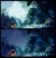 environment day/night by sgfw