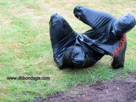 Fi Becomes a Rubber Gimp by BritBastard