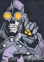 Lobster Johnson sketch card by KidNotorious