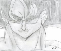 Goku's Smile by Kami-Jazzu