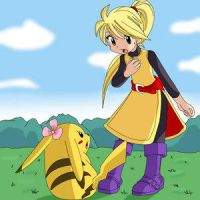 Yellow and Chuchu by Pokemon-Manga-FC